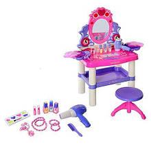 Дитяче ігрове трюмо 0395 столик і стільчик, 21 предмет