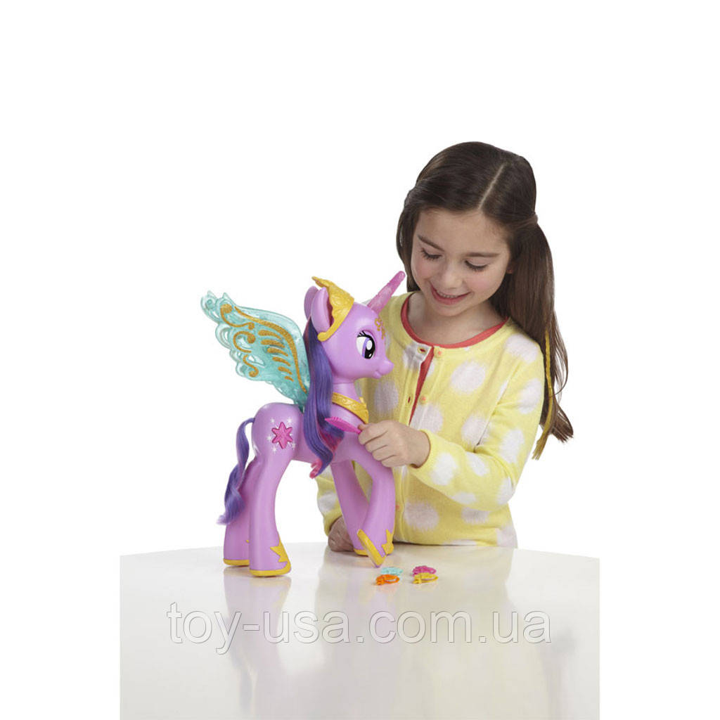 Интерактивная принцесса Твайлайт Спаркл ( Искорка) май ...