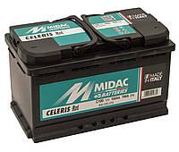 Аккумулятор 6СТ-100A MIDAC CELERIS, 12V, 100Ah (-/+) короткий евро, Мидак Селерис, 12В, 100Ач, EN790А
