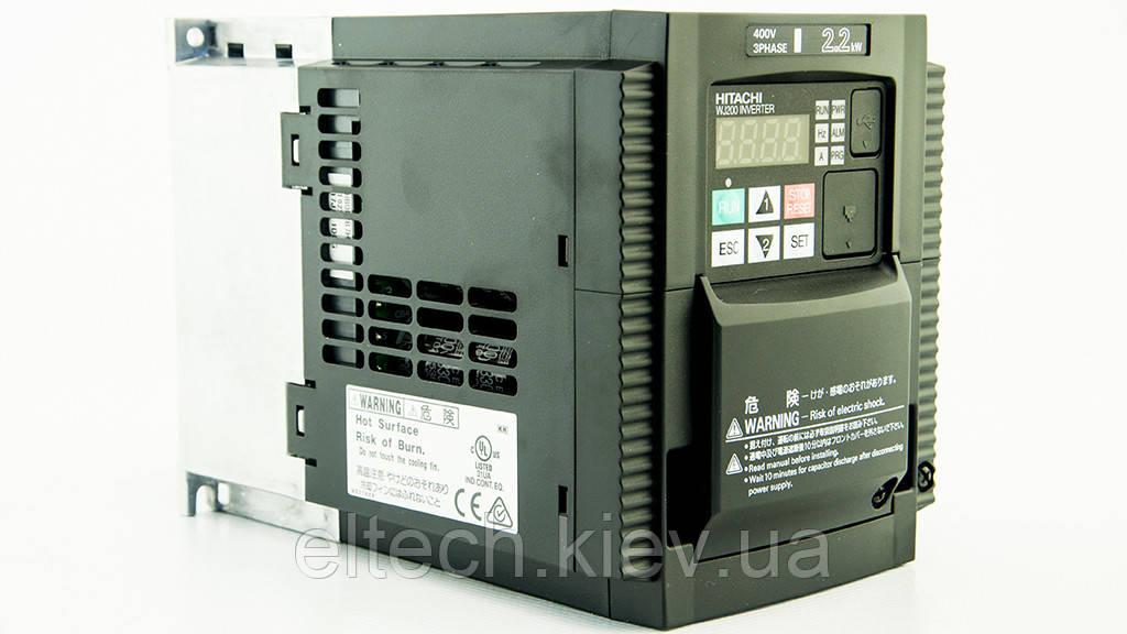 WJ200-022HF, 2.2кВт, 380В. Инвертор Hitachi