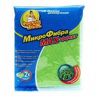 Микрофибра-салфетка  МАХэффект для уборки универсальная 30х30см