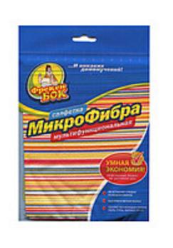 Микрофибра-салфетка Мультифункциональная Розумна економія 30х30см Фрекен Бок-18302400
