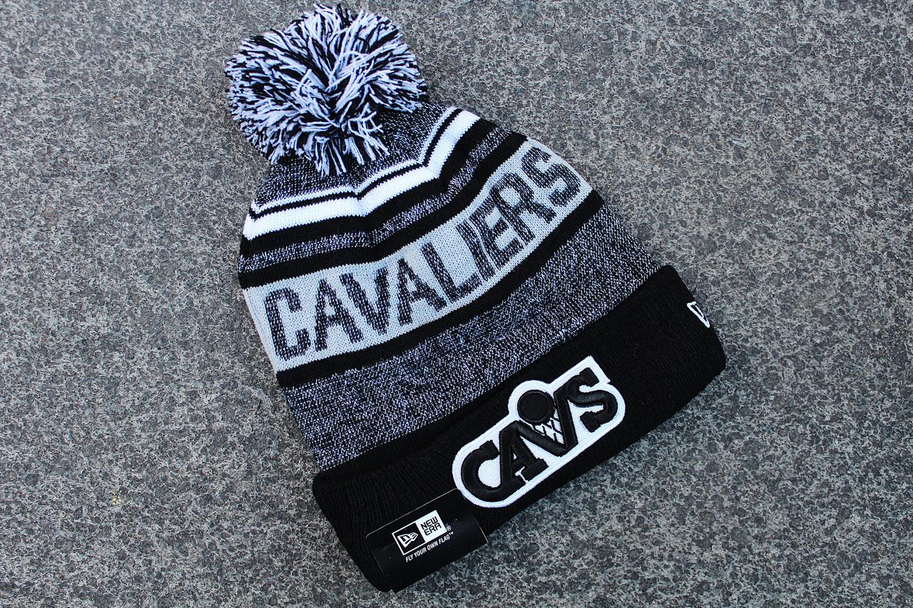 Шапка зимняя Cleveland Cavaliers / SPK-411 (Реплика)
