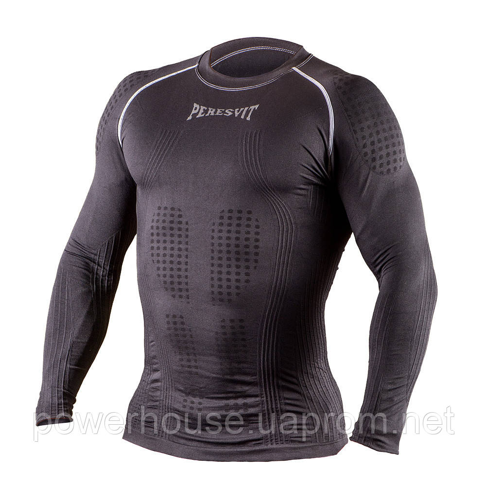 Рашгард с длинным рукавом Peresvit 3D Performance Rush Compression T-Shirt Black