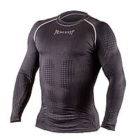 Рашгард с длинным рукавом Peresvit 3D Performance Rush Compression T-Shirt Black, фото 1