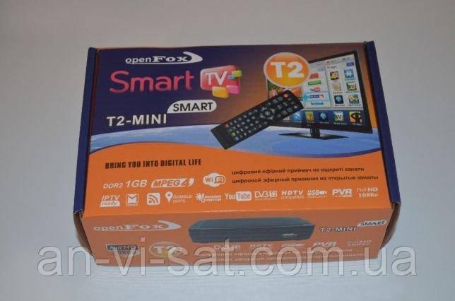 Цифровий ресивер Т2 Open Fox T2-mini