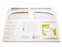 Накладки для унитаза 250шт PRO31200100 сложенные 1/2 белые