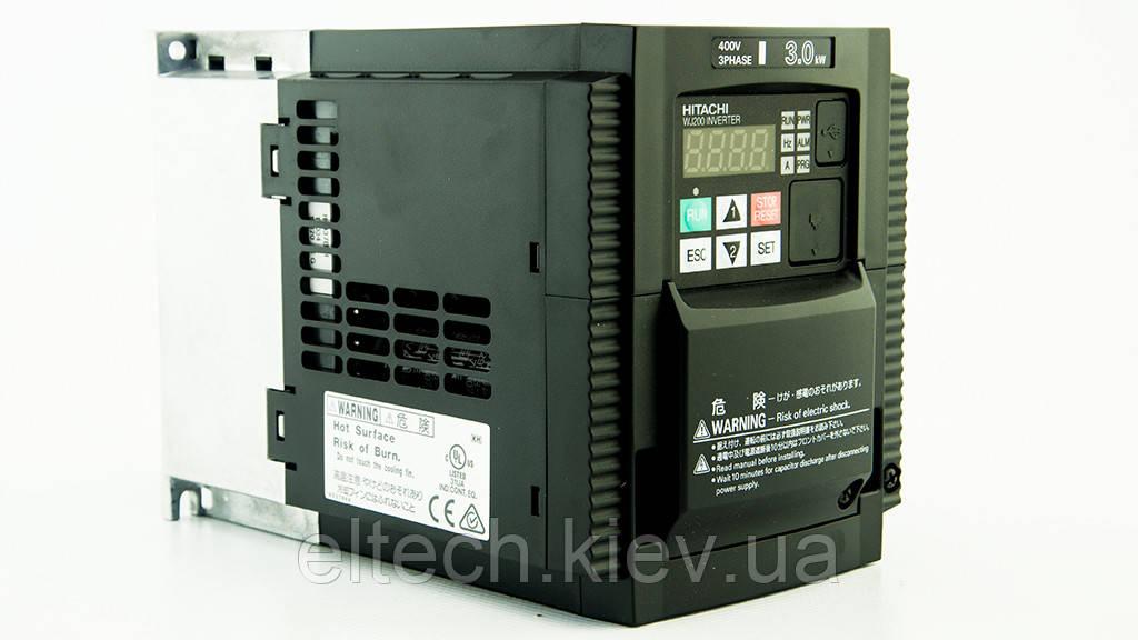 Преобразователь частоты Hitachi WJ200-030HF, 3кВт, 380В