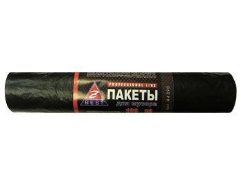 Пакети для сміття Z-BEST чорні 120л 10шт 23мк
