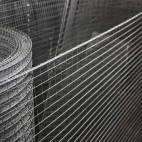 Сетка сварная оцинкованная, сетка для клеток 10х10х1,4 мм купить цена доставка