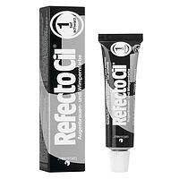 Краска Refectocil для бровей и ресниц черная №1