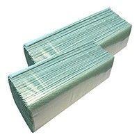Полотенце-вкладыш К-V сложенные 25*23 200шт зеленые Украина