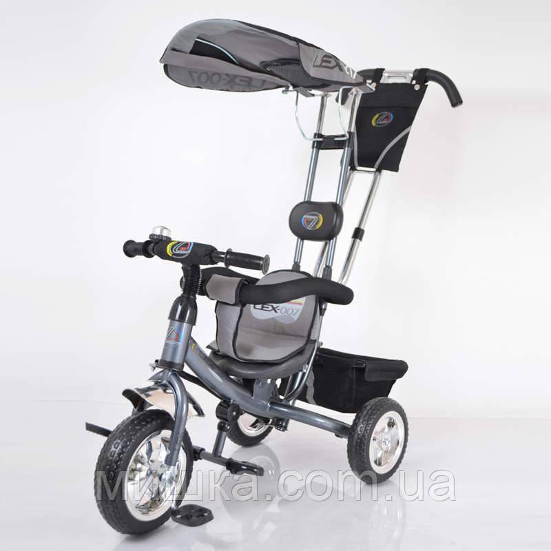 Sigma Lex-007 велосипед детский трехколесный (10/8 EVA wheel) Grey