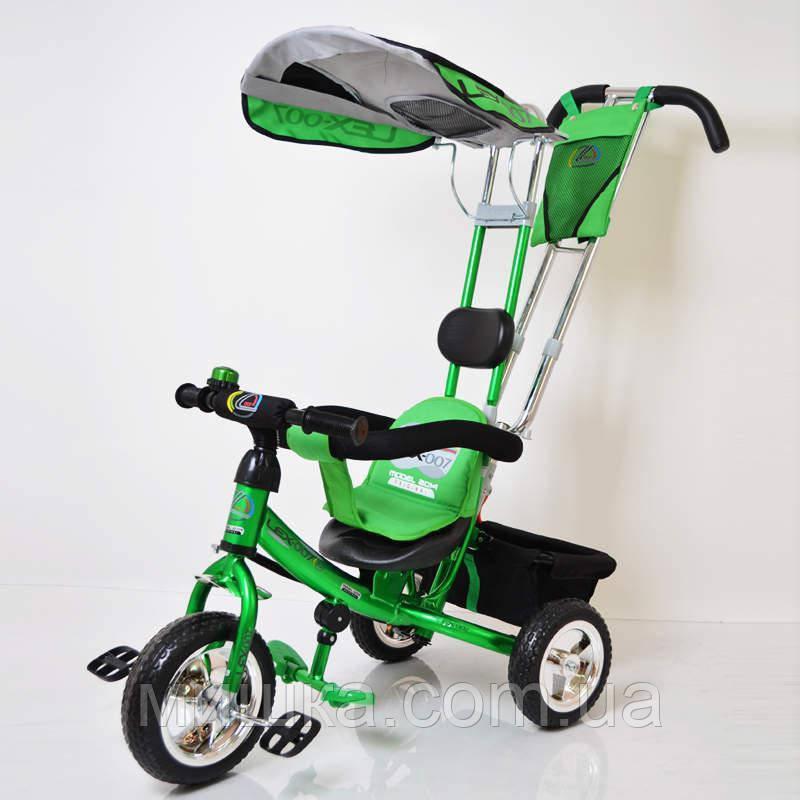 Sigma Lex-007 велосипед детский трехколесный (10/8 EVA wheel) Green