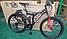 """Велосипед горный AZIMUT Fusion*19 26"""" серый, фото 2"""