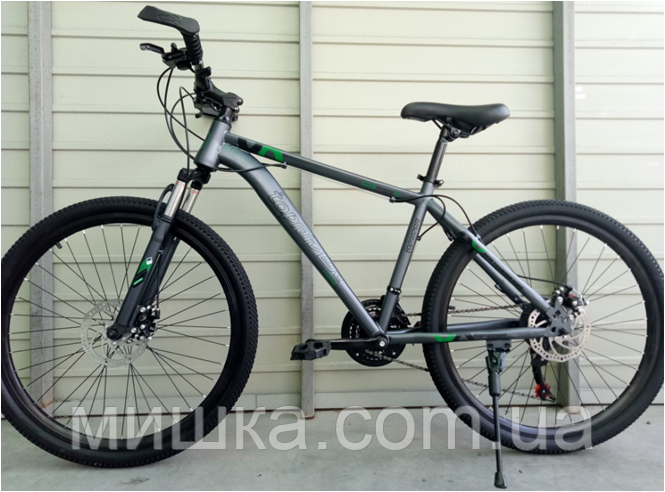 """Велосипед спортивный TopRider G35 26"""" зеленый"""