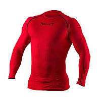 Рашгард с длинным рукавом Peresvit 3D Performance Rush Compression T-Shirt Red, фото 1