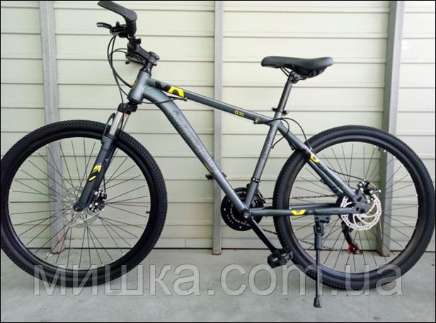 """Велосипед спортивный TopRider G35 26"""" желтый"""