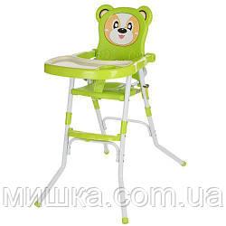 Детский стульчик для кормления 113-5 салатовый