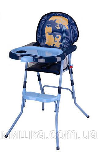 Детский стульчик для кормления HC100A BLUE