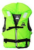 Спасательный жилет с воротником Vulkan Neon green L (70-90 кг)