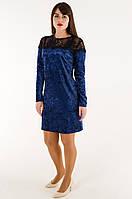 Платья женские - мраморный велюр (44-48 норма) Украина: 3 шт