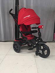 CROSSER T-400 NEO ECO AIR червоний дитячий триколісний велосипед