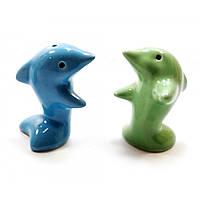 Солонка и перечница Дельфины