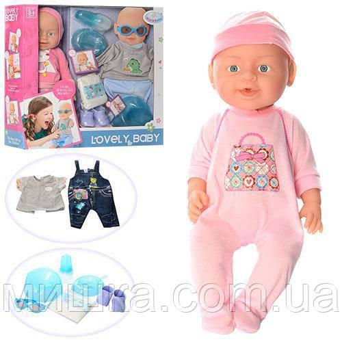 Кукла-пупс WZJ014-1-2 Lovely интерактивная, пищит, смеется