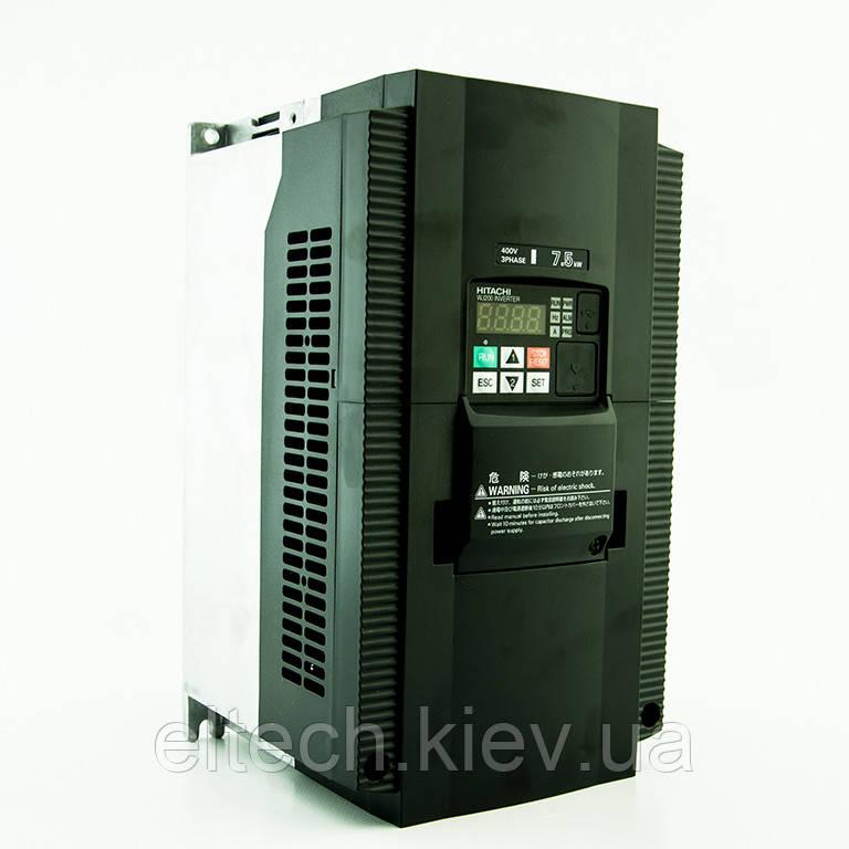 WJ200-075HF, 7.5кВт, 380В. Инвертор Hitachi