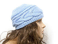 Шапка, женская вязаная шапка,  HandMade шапка, модная стильная шапка, фото 1