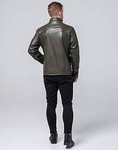 Осенняя куртка молодежная 2612 хаки, фото 3