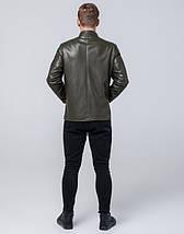Молодежная куртка 13-25 лет 4129 хаки, фото 3