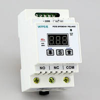 Таймер циклический цифровой, реле времени на DIN-рейку (1с-999мин, реле 40А) РВЦ-40/D