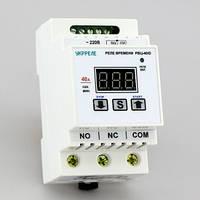 Таймер циклический цифровой, реле времени на DIN-рейку (1с-999мин, реле 40А) РВЦ-40/D, фото 1