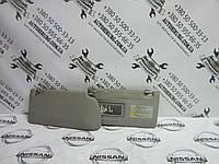 Солнцезащитный козырек Nissan Navara D40