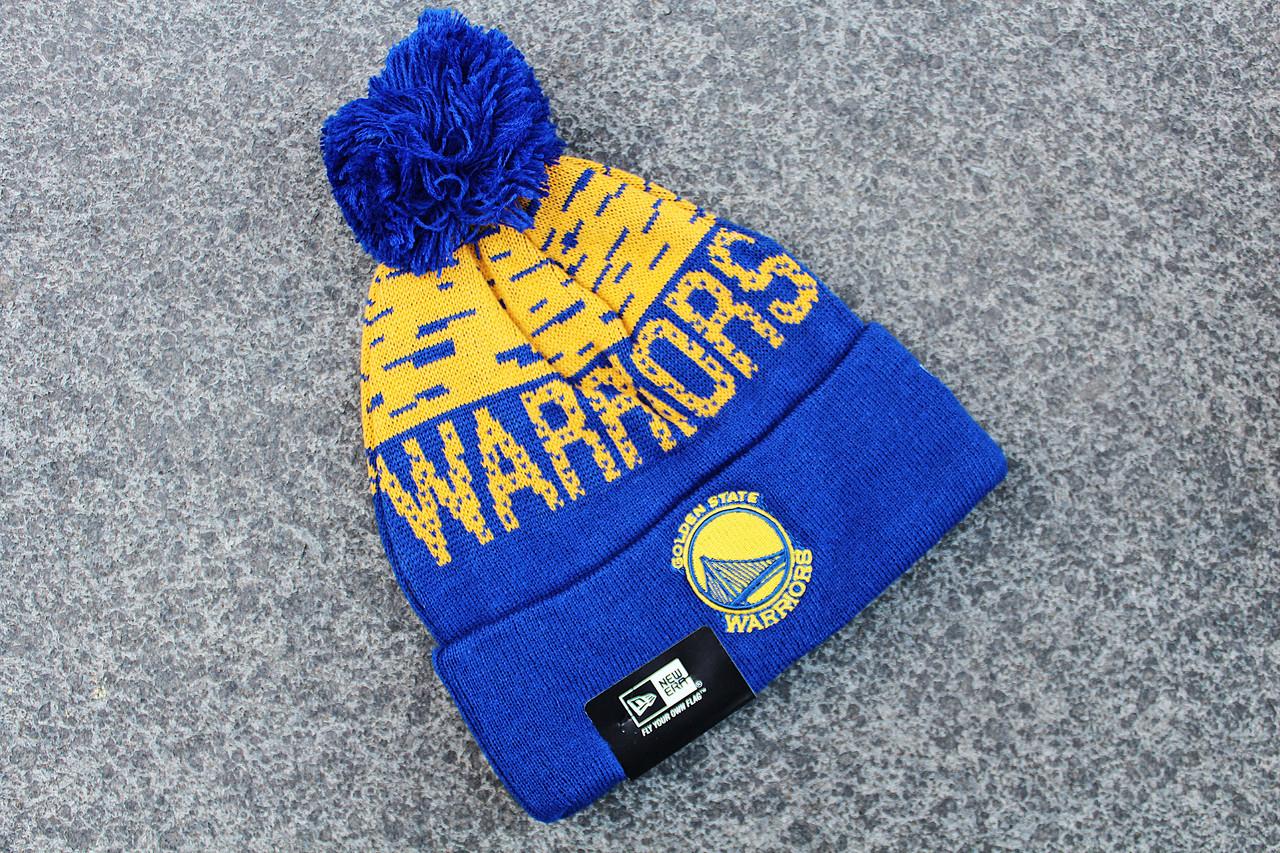 Шапка зимняя Golden State Warriors / SPK-422 (Реплика)