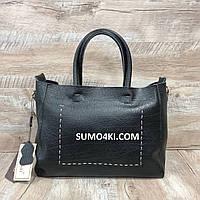 Мягкая кожаная сумка , фото 1