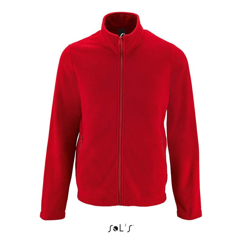 Однотонная мужская куртка из флиса NORMAN