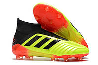 Бутсы adidas Predator 18+ FG light-green, фото 1