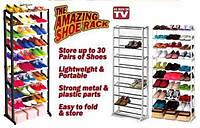 Органайзер полка для обуви Amazing shoe rack (полка на 30 пар обуви )