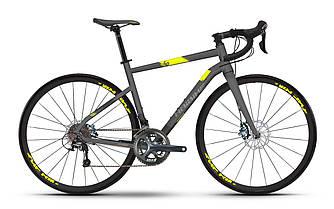 """Велосипед шоссейный Haibike SEET Race 4.0 28"""", рама 53см, 2018 серого цвета"""