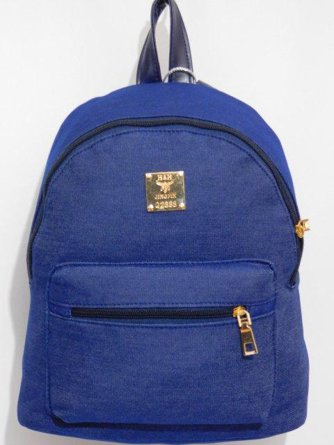 Джинсовый повседневный рюкзак