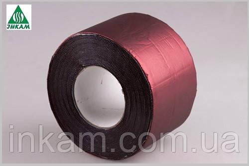 Фольгированная битумная лента красная Plastter ST 30х1000см