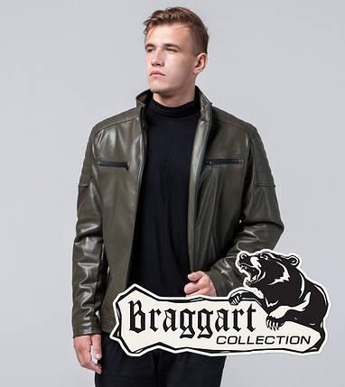 Осенняя куртка молодежная 2612 хаки, фото 2