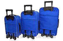 Чемодан Siker Lux (небольшой) синий, фото 2