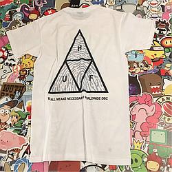 Huf футболка белая • Отличная  • Живые фотки
