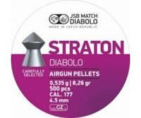 Кульки JSB DIABOLO Straton 4.5 мм (0,535 г) 500шт.