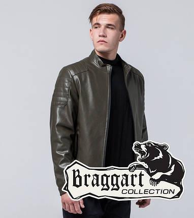Молодежная куртка 13-25 лет 4129 хаки, фото 2