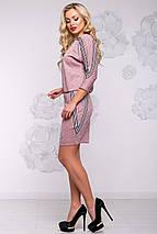 Женское платье летучая мышь из ангоры (2922-2921-2920 svt), фото 3